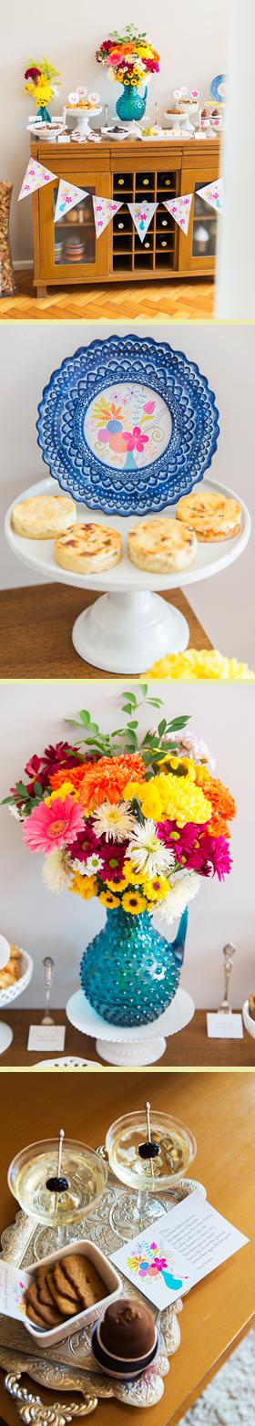 Brunch para o Aniversário da Mamãe