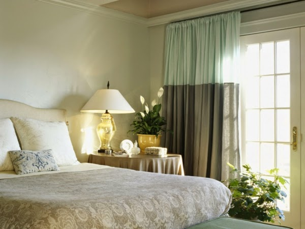 orange color combination bedroom curtains ideas one curtain in white
