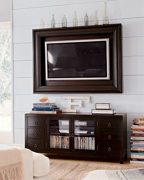 television in picture frame