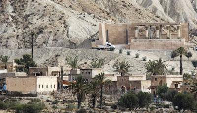 """Localización de """"Éxodus"""" en Almería"""