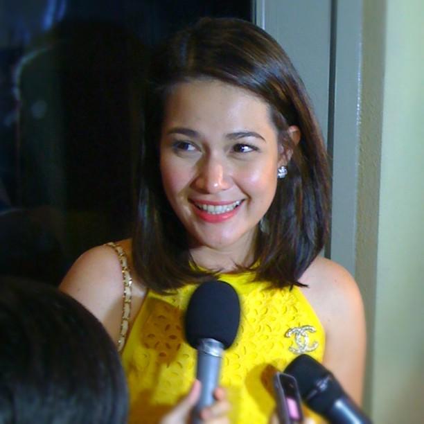 Bea Alonzo, whose boyfriend Zanjoe Marudo is art of the cast