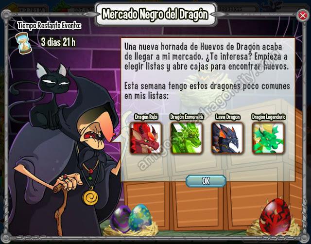Dragon Rubi-Dragon Esmeral-Dragon Lava-Dragon Legendario en el mercado negro del dragon