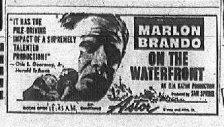 Asta S Doghouse On The Waterfront 1954 Marlon Brando