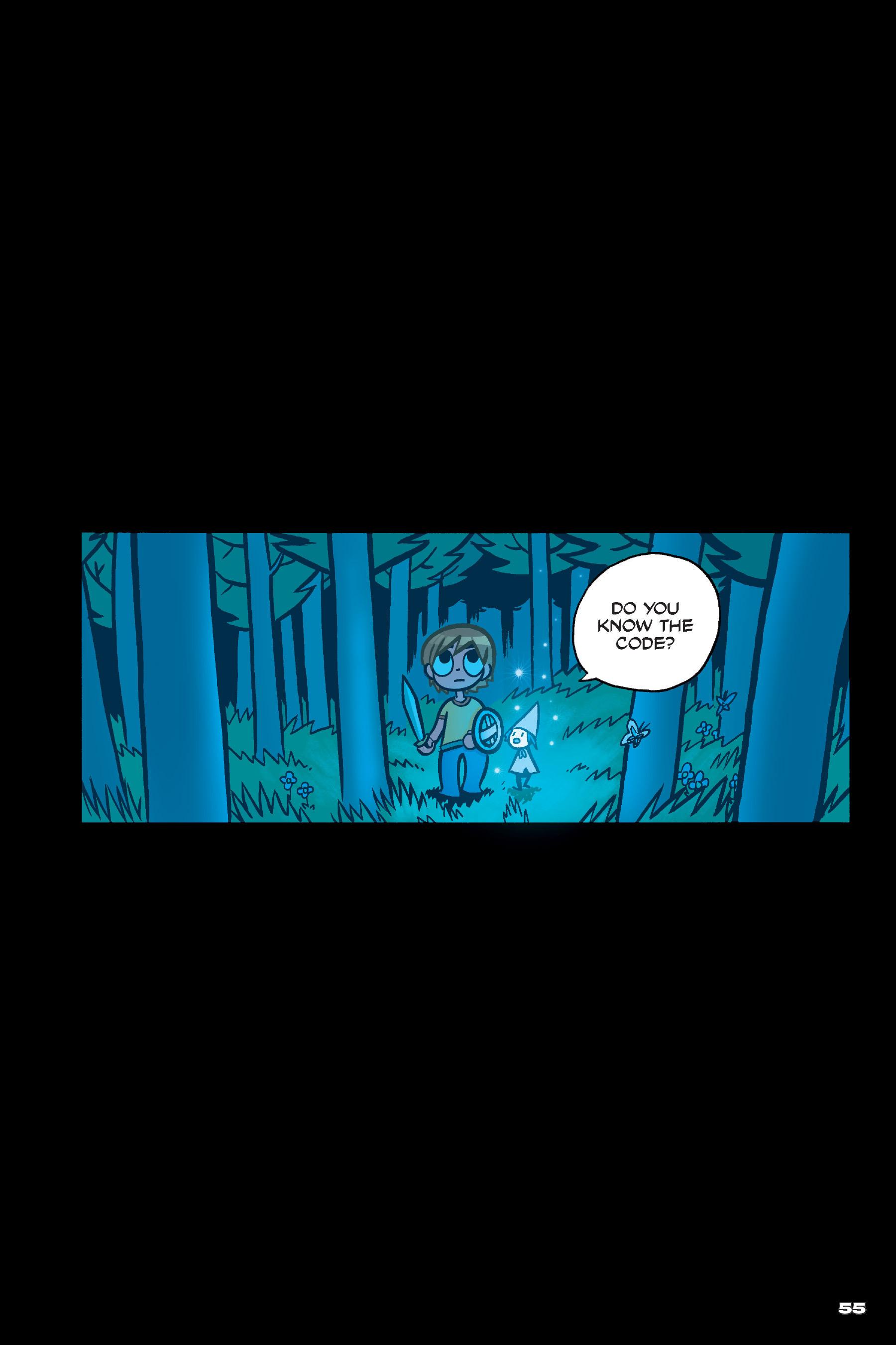 Read online Scott Pilgrim comic -  Issue #4 - 54