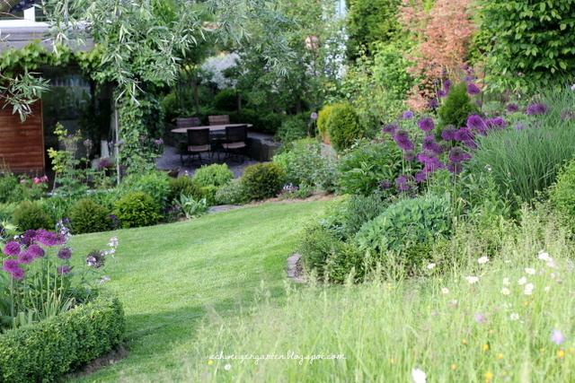 ein schweizer garten: die macht der farben, Garten ideen