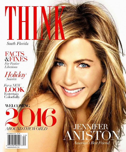 Actress, @ Jennifer Aniston - THINK Magazine, December 2015