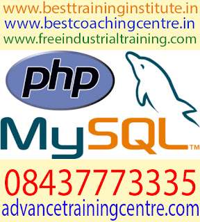 PHP, Web Designing Industrial Training in Chandigarh Mohali