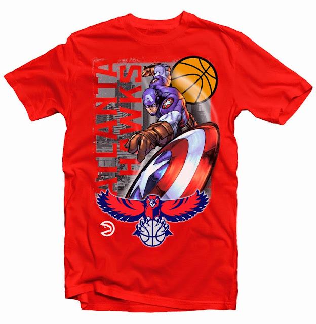 atlanta hwaks tshirt design