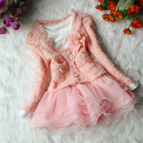 Baju cantik untuk anak perempuan model terbaru setelan tutu