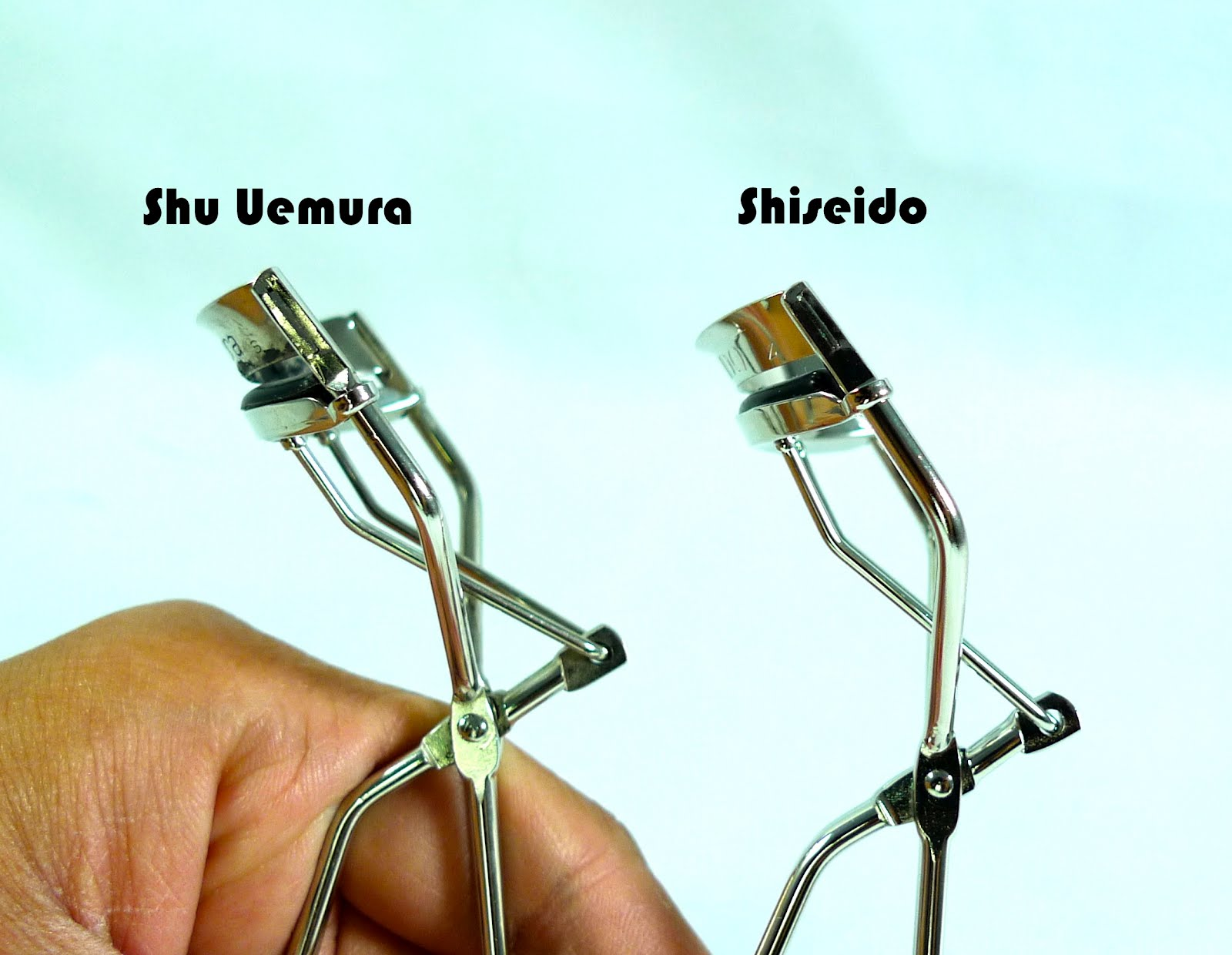 shiseido eyelash curler. body curve: shu uemura\u0027s body curve is more universal than shiseido. as you can see, it\u0027s slanted shiseido\u0027s, making it perfect for women with shiseido eyelash curler w