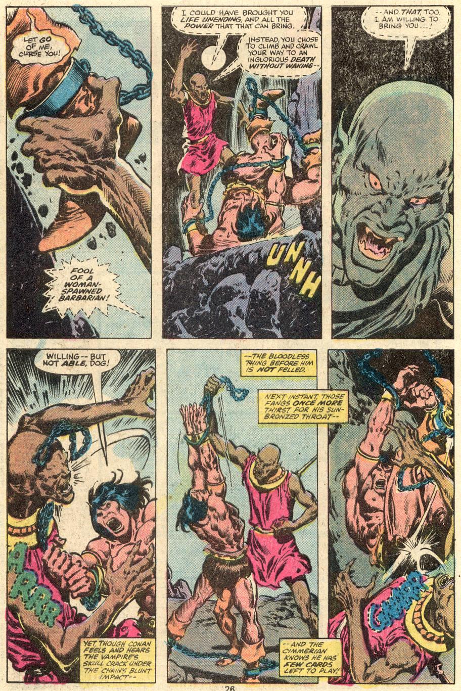 Conan the Barbarian (1970) Issue #103 #115 - English 15