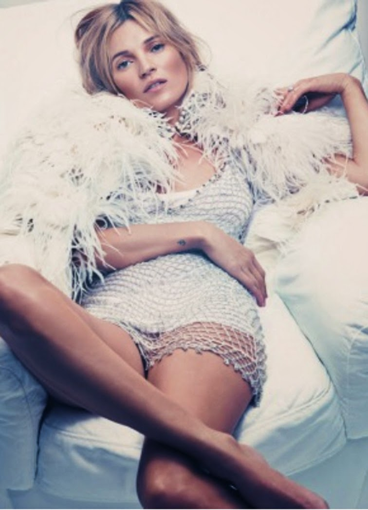 Kate Moss by Craig McDean Esquire UK September 2013 styled by Katy England