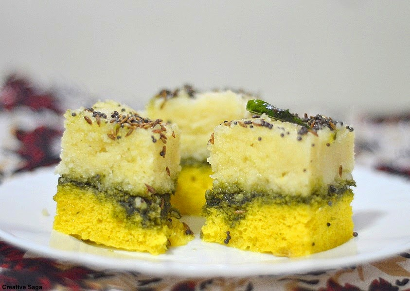 sandwich dhokla recipe