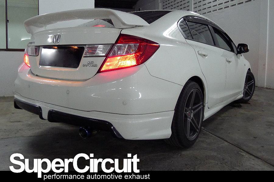 Supercircuit exhaust pro shop 9th generation honda civic for Honda civic 9th gen