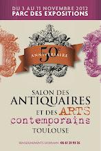 TOULOUSE : 50ème SALON DES ANTIQUAIRES ET DES ARTS CONTEMPORAINS