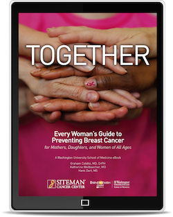 Our free ebook on preventing breast cancer