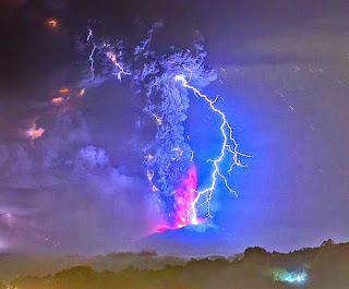 Letusan Gunung Berapi Chili