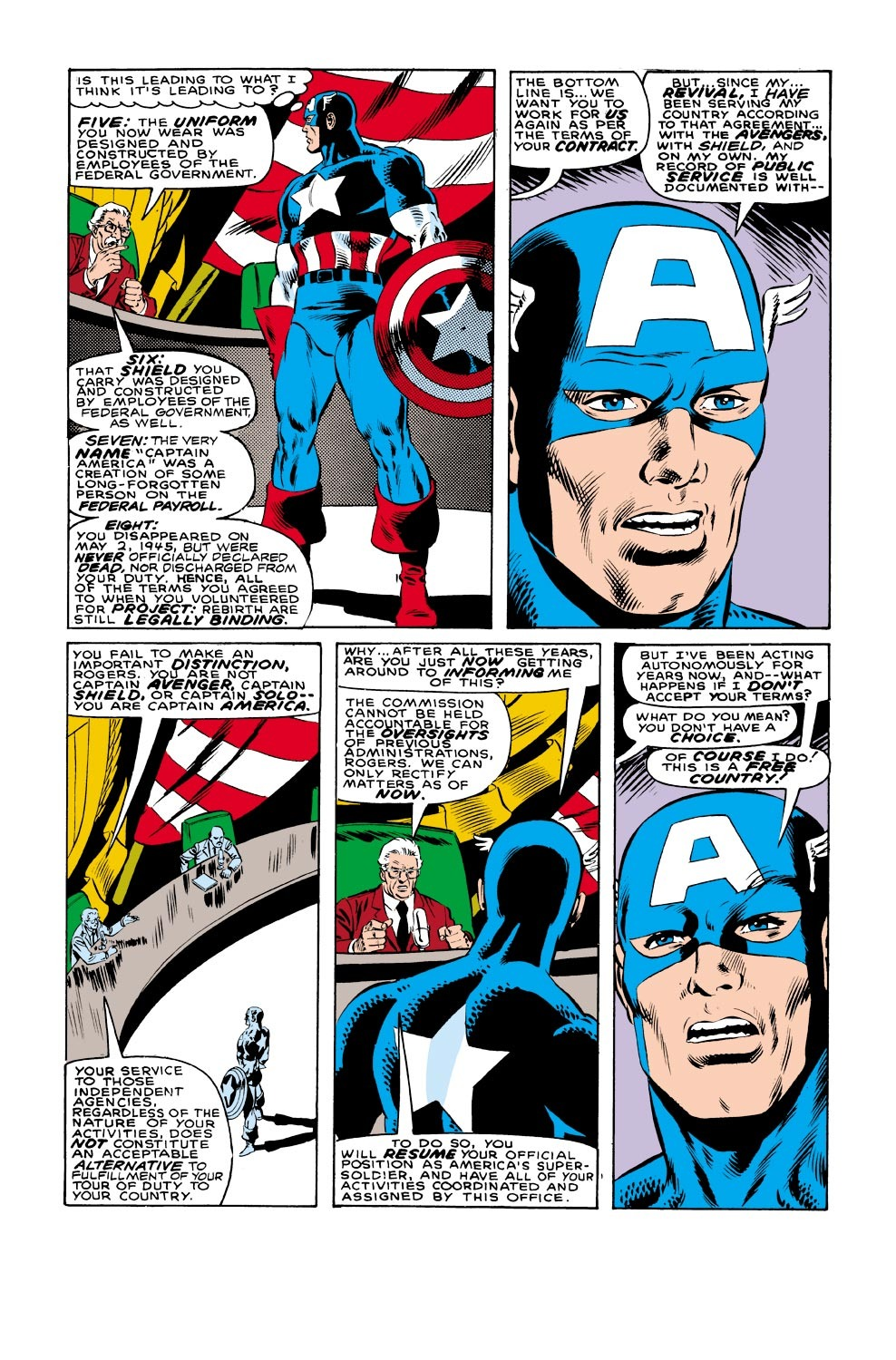 Captain America (1968) Issue #332 #261 - English 9
