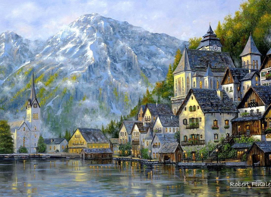 rumah lereng gunung