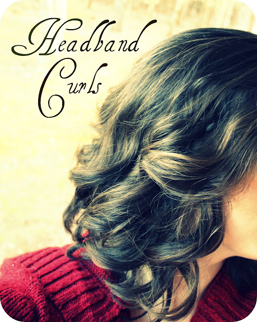 headband curls