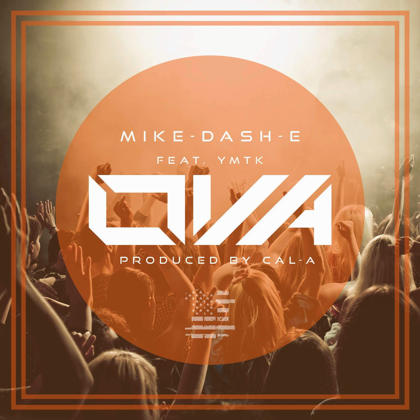 Mike-Dash-E - OVA (feat. YMTK) - Single  Cover