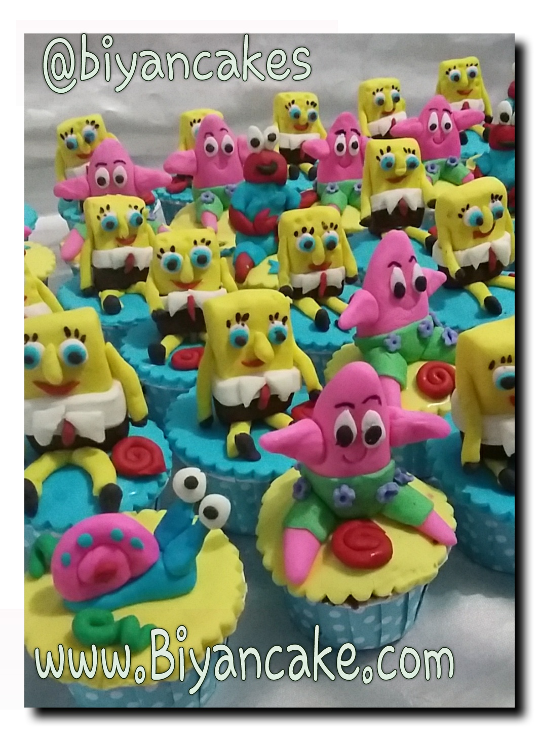 Cupcake sponge bob ~ Nike