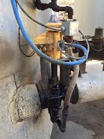 kinetrol actuator on asphalt valve