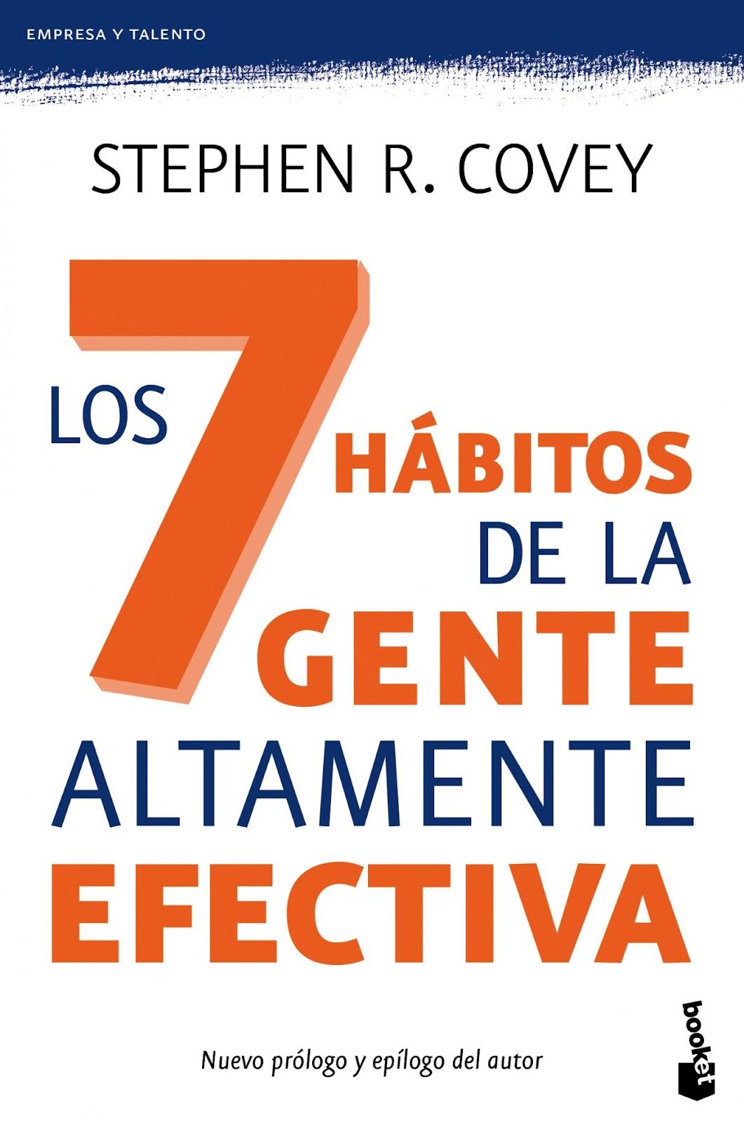 RESUMEN LOS SIETE HÁBITOS DE LAS PERSONAS ALTAMENTE EFECTIVAS - Stephen Covey