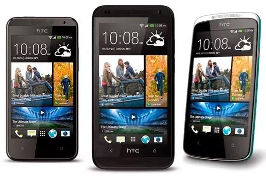 HTC renueva la gama de teléfonos para Android Desire
