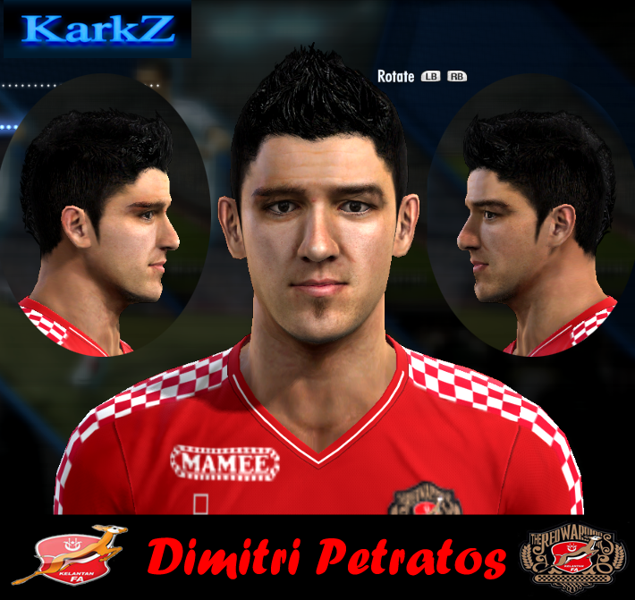 Dimitri Petratos Faces By KarkZ