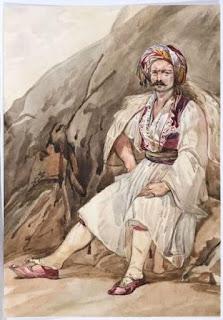 Gli albanesi sono i discendenti degli Illiri o dei Pelasgi , una razza che secondo Erodoto, ha fondato Atene - [Current opinion ,anno 1921])