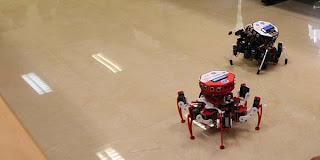 Robot karya ITB yang menjadi Juara