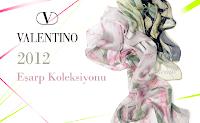 Valantino 2012 Eşarp modelleri