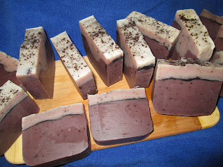 Cut Cappuccino Soap