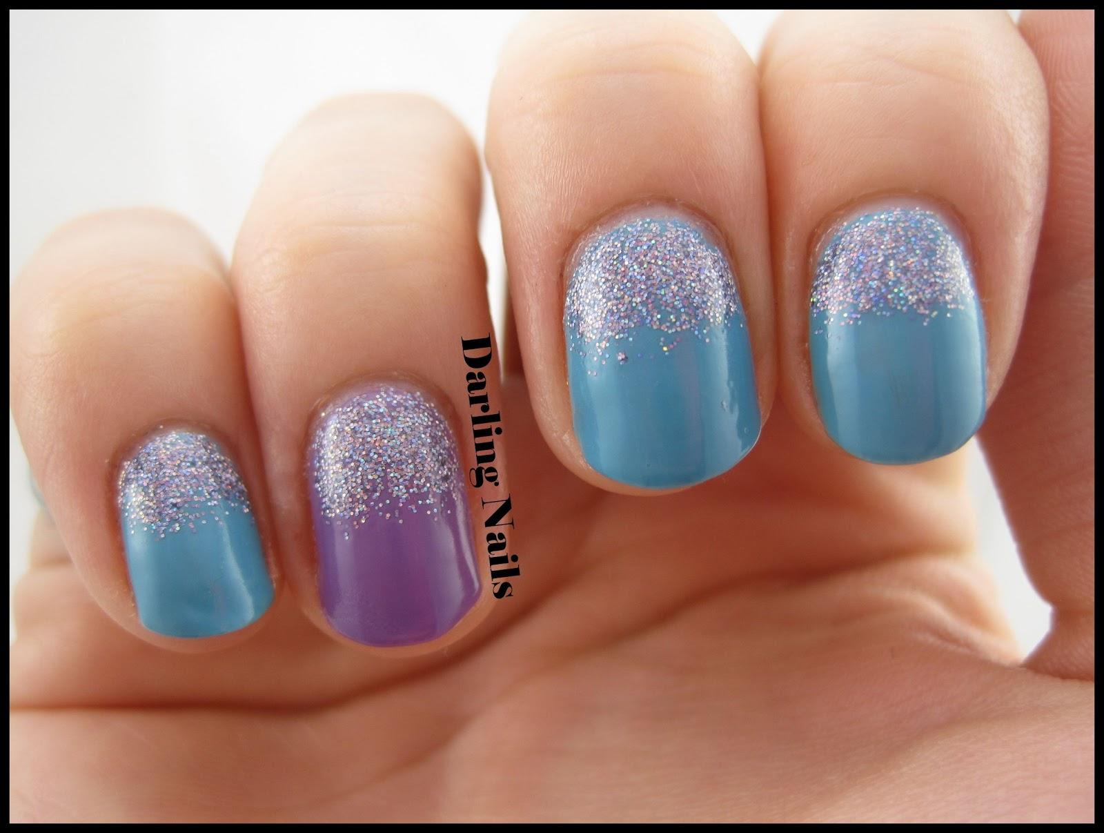 Darling Nails: Glitter Cuticles