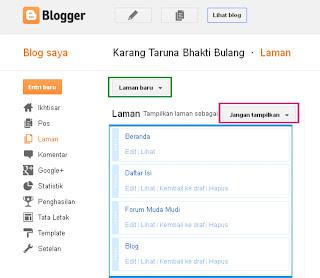 http://karangtarunabhaktibulang.blogspot.com/2013/03/mengatur-menambahkan-dan-memahami-halaman-blogspot-bagi-pemula.html
