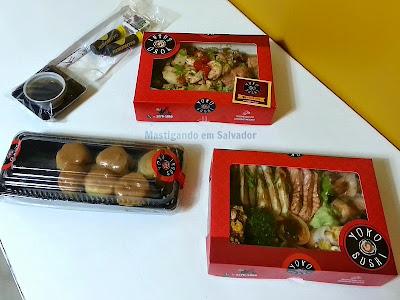 Yoko Sushi: Embalagens