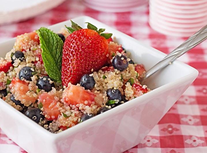 Quinoa Salad, Healthy 4th of July Recipes