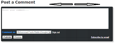 width comment box