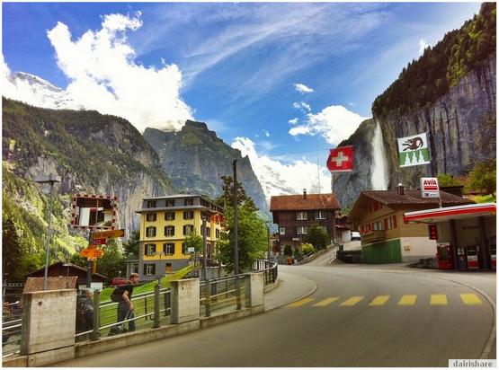 Kampung Di Eropah Ini Mempunyai 72 Air Terjun Yang Sangat Cantik Dan Mempesonakan