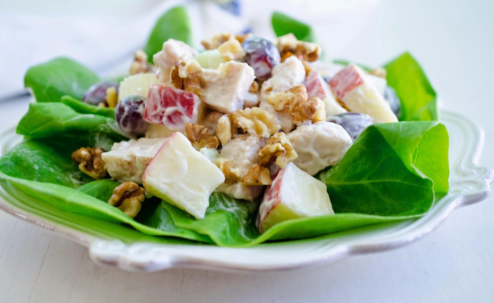 Turkey Waldorf-Style Salad