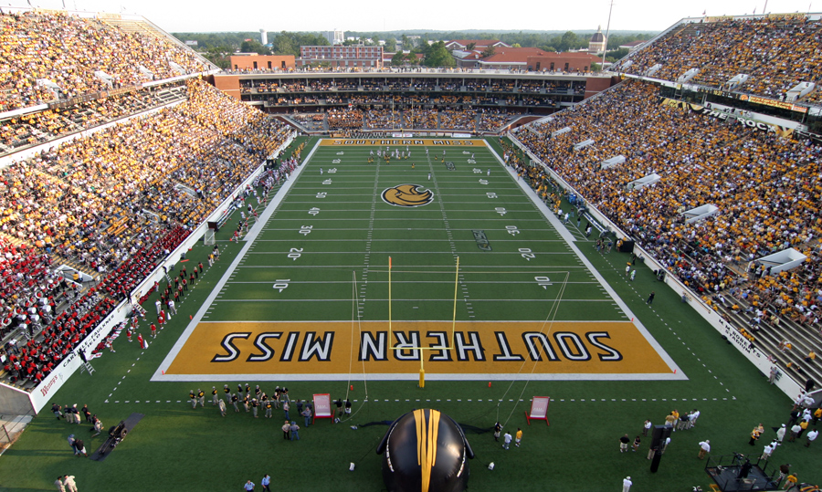Fat Guy Touchdowns University Of Southern Mississippi