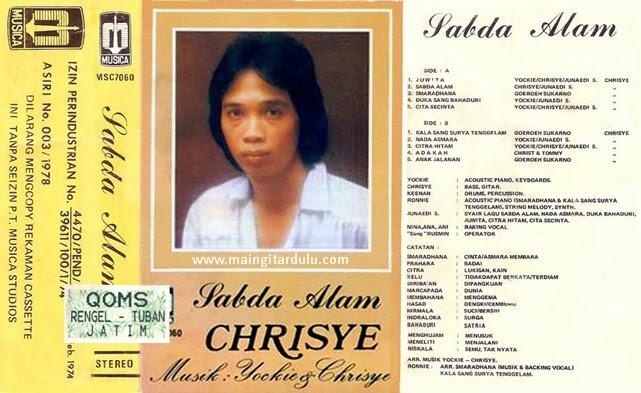 Album Sabda Alam 1978