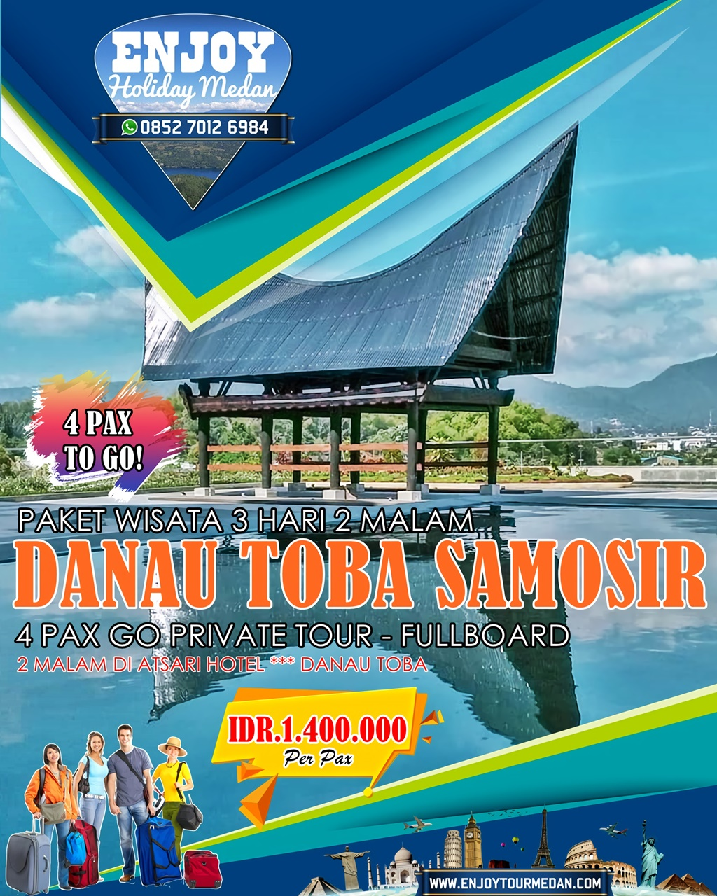 Lake Toba Tour Packages - Tour Lake Toba From Singapore - Lake Toba Tour From Malaysia