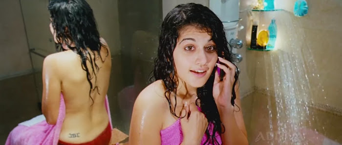 Actress Tapsee Hot Wet Photos