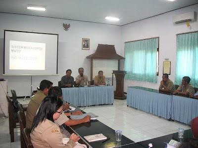 Sistem Manajemen Mutu ISO 9001 : 2008 di Puskesmas Ngadirojo