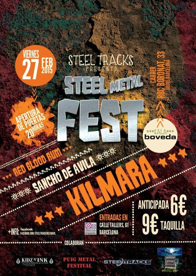 KILMARA EN EL STEEL METAL FEST + SORTEO
