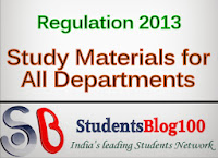 ANNA UNIVERSITY ECE EEE CSE IT MECH CIVIL UG STUDY MATERIALS