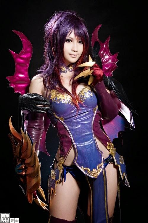 mei wai sexy aion cosplay 02