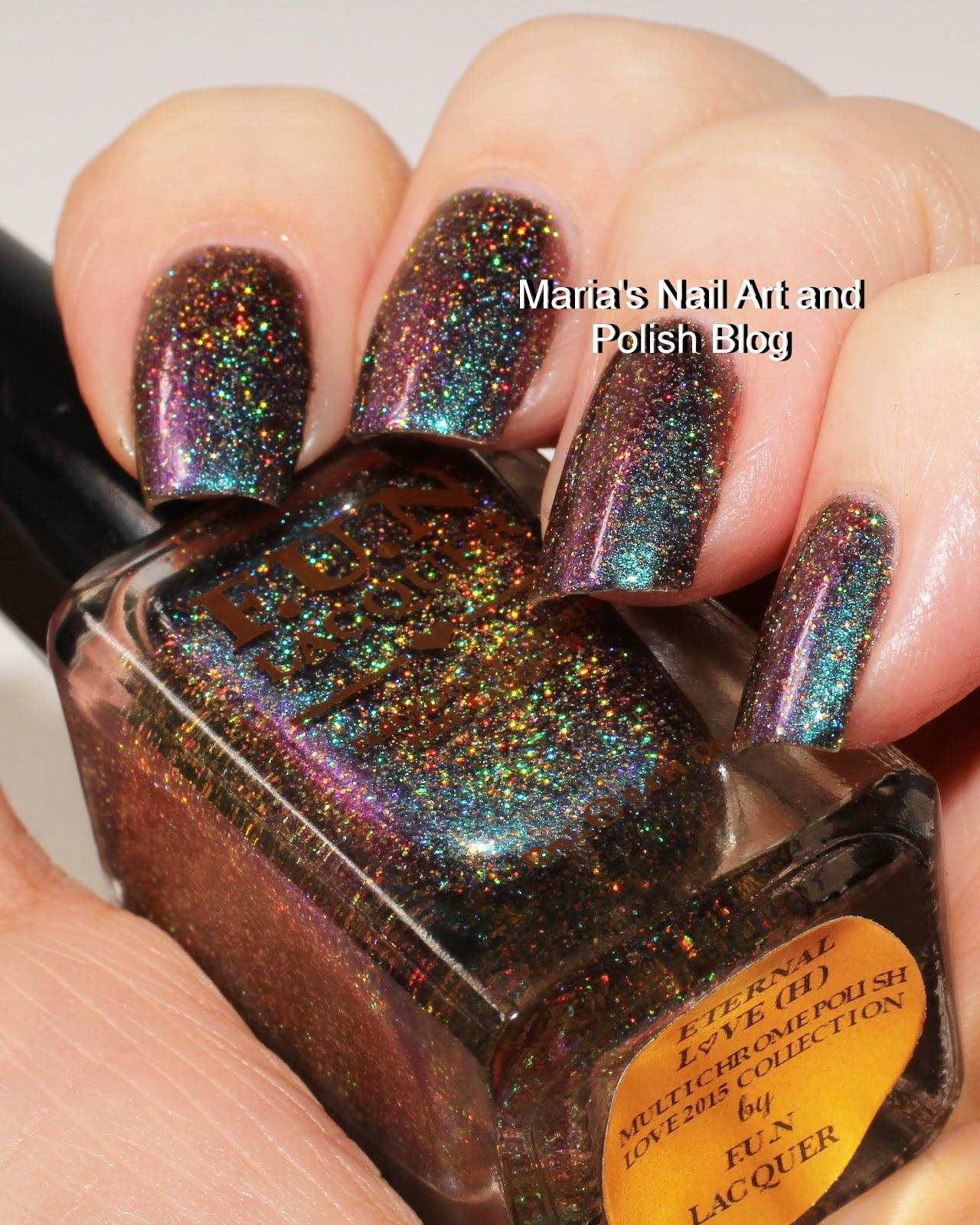 Marias Nail Art and Polish Blog: F.U.N Lacquer Eternal Love (H) swatches
